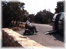 Ron driving the hermit Trail, Grand Canyon                                                                       Inn